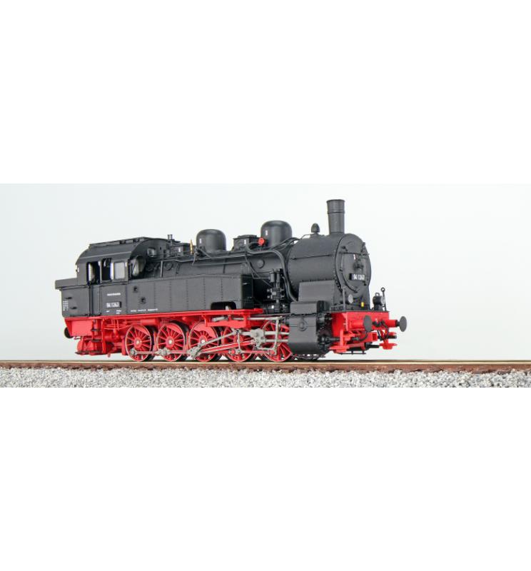 Lokomotywa parowa (parowóz) T16.1, BR 94, 94 1243, DB, Ep III, czarna, LokSound, Generator dymu, Skala H0, DC/AC - ESU 31101