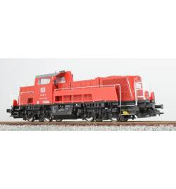 Lokomotywa spalinowa, BR 261, 261-082, DB, Ep VI, czerwona, LokSound, Generator dymu, Skala H0, DC/AC - ESU 31150
