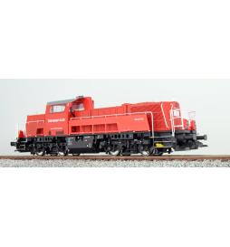 Lokomotywa spalinowa, BR 261, 261-007, Baneservice, Ep VI, czerwona, LokSound, Generator dymu, Skala H0, DC/AC - ESU 31153