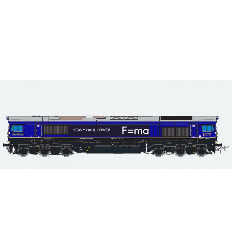 Lokomotywa spalinowa, Class 66, HHPI 29004, Ep VI, niebieska, LokSound, Generator dymu, Skala H0, DC/AC - ESU 31273