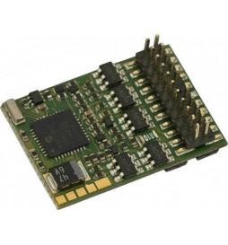Dekoder jazdy i oświetlenia do ST44 Piko (oświetlenie E1 PKP) - Zimo MX633P22 PluX 22-pin