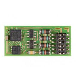 Dekoder jazdy i oświeltenia D&H PD12A-4 NEM652 8-pin z przewodami