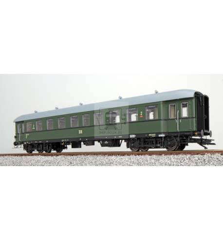 Pullman (ESU) 36121 - Wagon pasażerski G36, H0, DR B4ü, zielony, Ep III, DC