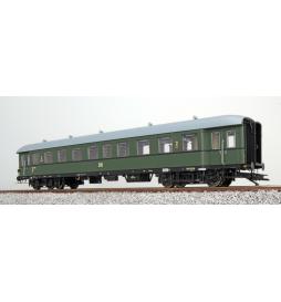 Wagon pasażerski G36, H0, DR B4ü, zielony, Ep III, DC - ESU 36122
