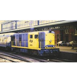 Piko 40424 - N-Diesellok Rh 2400 grau/gelb 3. Spitzenlicht NS IV + DSS Next18