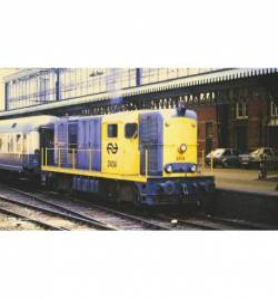 Piko 40425 - N-Diesellok/Sound Rh 2400 grau/gelb 3. Spitzenlicht NS IV + Next18 Dec.