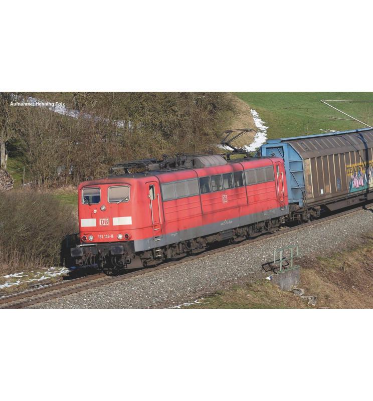 Piko 51307 - ~E-Lok BR 151 DB AG vkrot VI + PluX22 Dec.