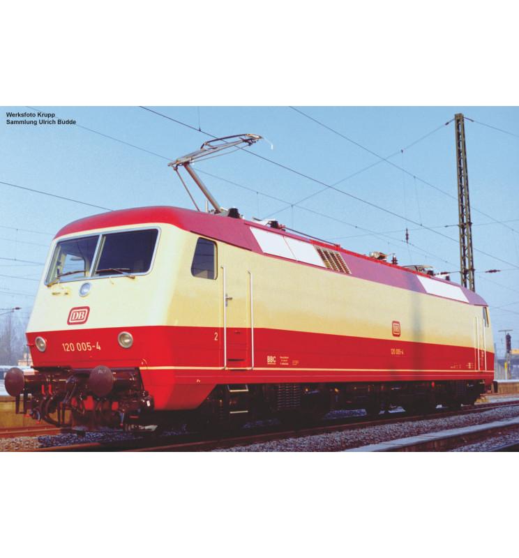 Piko 51323 - ~E-Lok/Sound 120 005-4 DB Vorserie IV + PluX22 Dec.