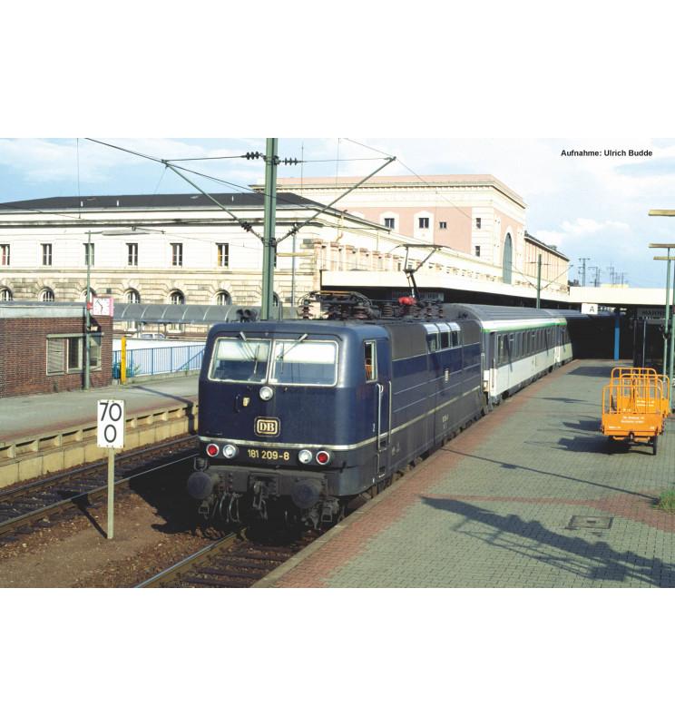 Piko 51341 - ~E-Lok BR 181.2 DB IV + PluX22 Dec.