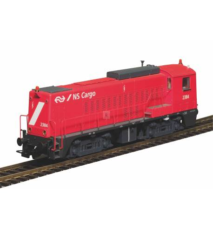 Piko 52691 - ~Diesellok Rh 2200 rot NS IV + PluX22 Dec.