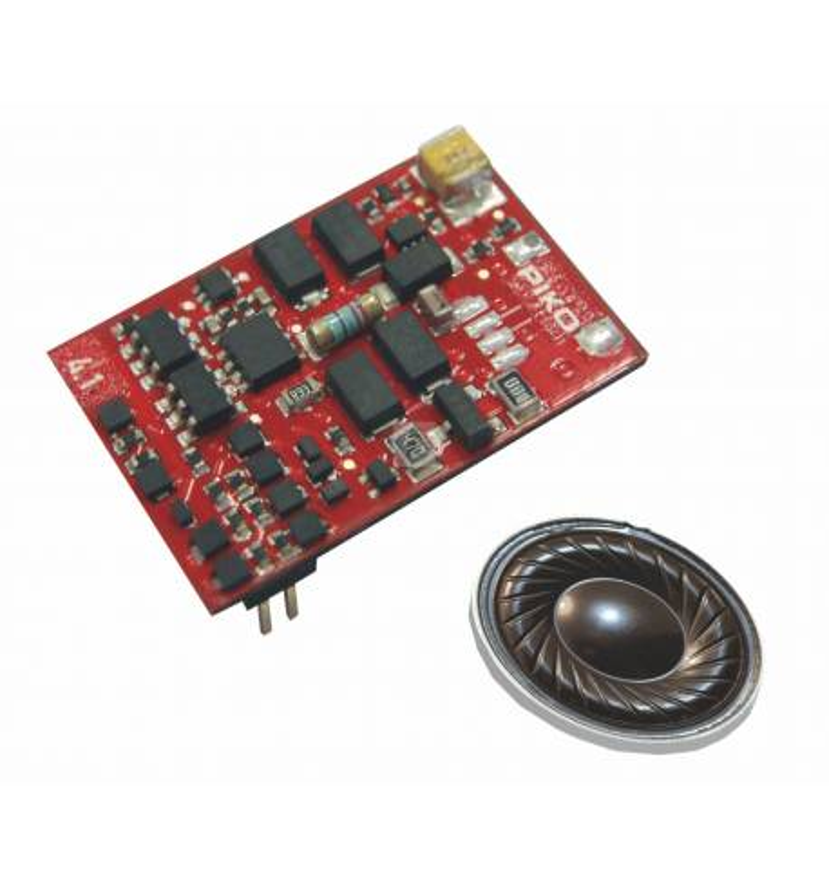 Piko 56433 - PIKO SmartDecoder 4.1, dekoder dźwięku do SU46 PKP PluX22 z głośnikiem