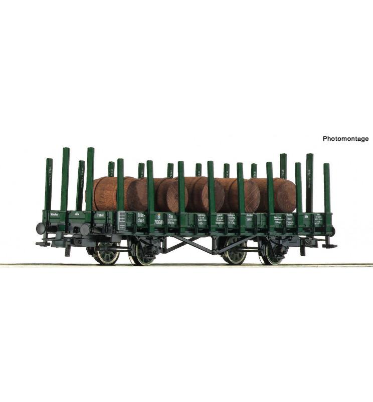 Roco 76774 - Wagon platforma z ładunkiem beczek, K.P.E.V. ep. I