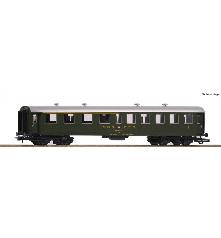 Roco 74527 - 2nd/3rd class passenger car SBB