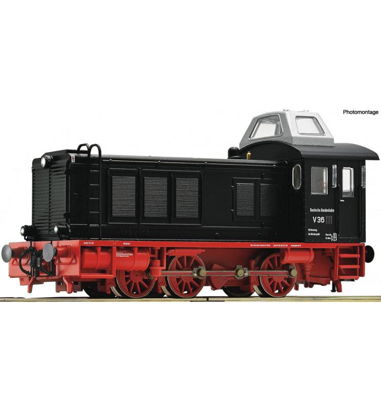Roco 73069 - Lokomotywa spalinowa V 36 DB, DCC z dźwiękiem