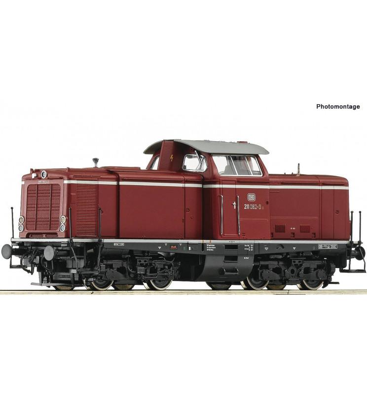 Roco 52527 - Lokomotywa spalinowa BR 211 DB, DCC z dźwiękiem