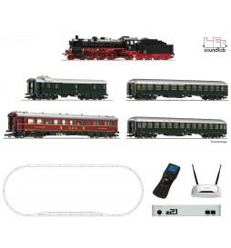Roco 51313 - Cyfrowy zestaw startowy z21® : Parowóz serii 18.6 DCC z dźwiękiem + pociąg pospieszny