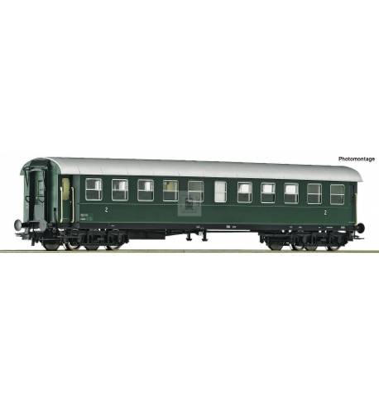 Roco 74446 - 2nd class ribbed wagon ÖBB