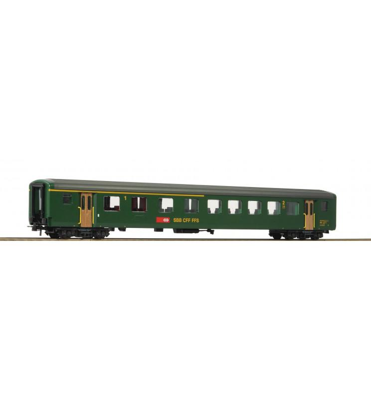 Roco 74570 - 1st/2nd class fast train car EW II SBB
