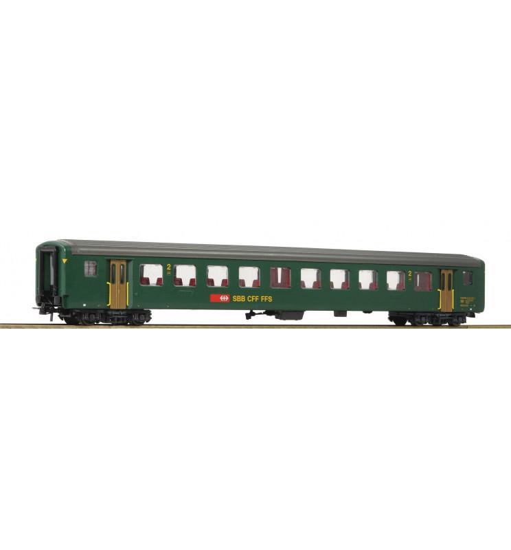 Roco 74573 - 2nd class fast train car EW II SBB