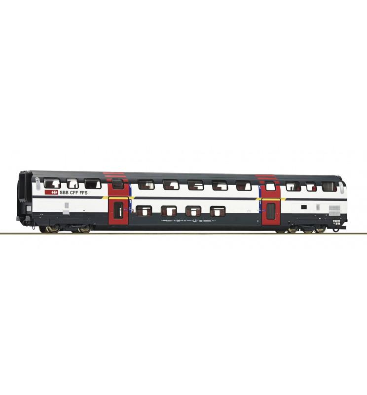 Roco 74500 - Wagon piętrowy 1kl SBB