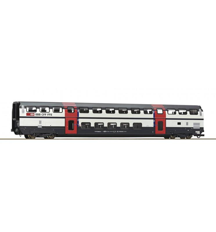 Roco 74502 - Wagon piętrowy 2kl SBB