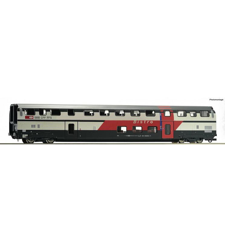Roco 74504 - Wagon restauracyjny piętrowy SBB