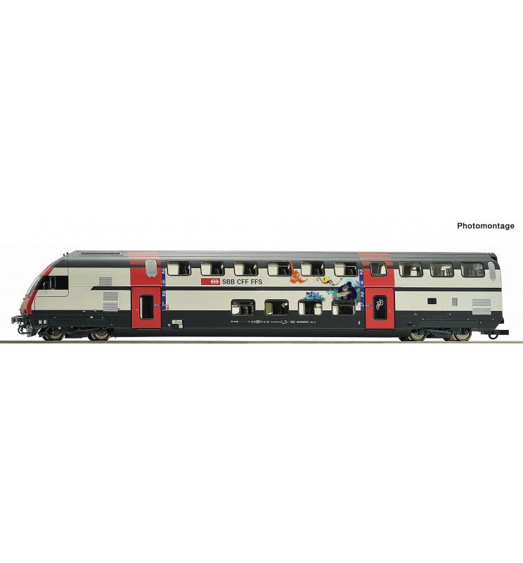 Roco 74505 - Wagon sterowniczy piętrowy SBB