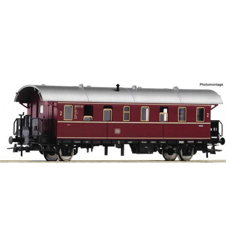 "Roco 74262 - 2nd class passenger car ""Donnerbüchse"" DB"