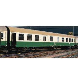 Roco 74805 - Wagon osobowy 2 klasa z przedziałem bagażowym typ BDms Halberstadt