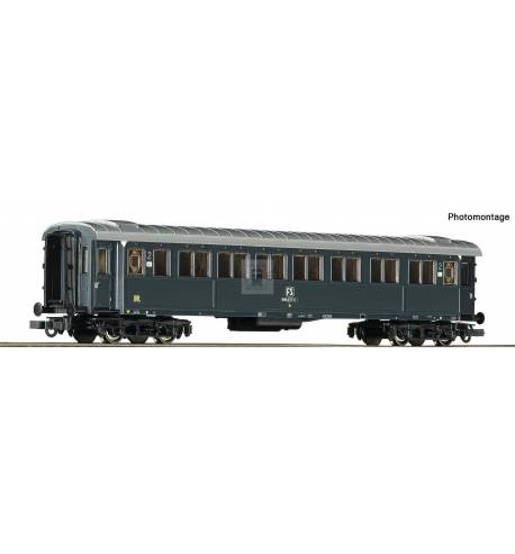 Roco 74604 - 2nd class passenger car FS