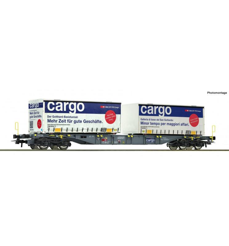 Roco 76622 - Wagon kontenerowy SBB