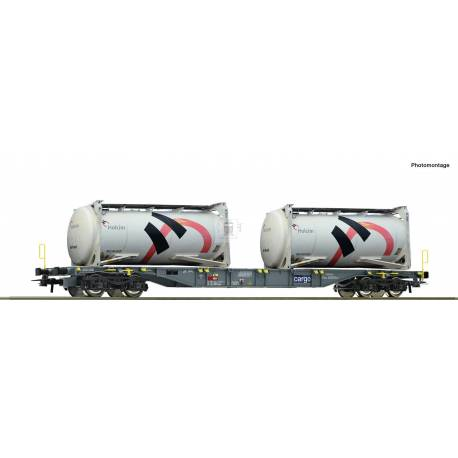 Roco 76943 - Container carrier wagon SBB