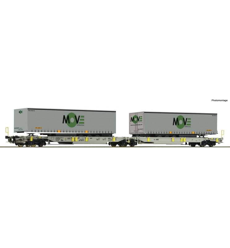 Roco 67404 - Articulated pocket wagon