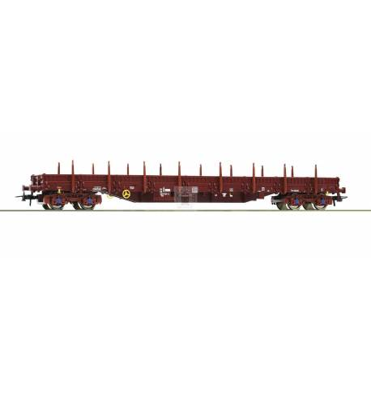 Roco 76946 - Stake wagon SNCB