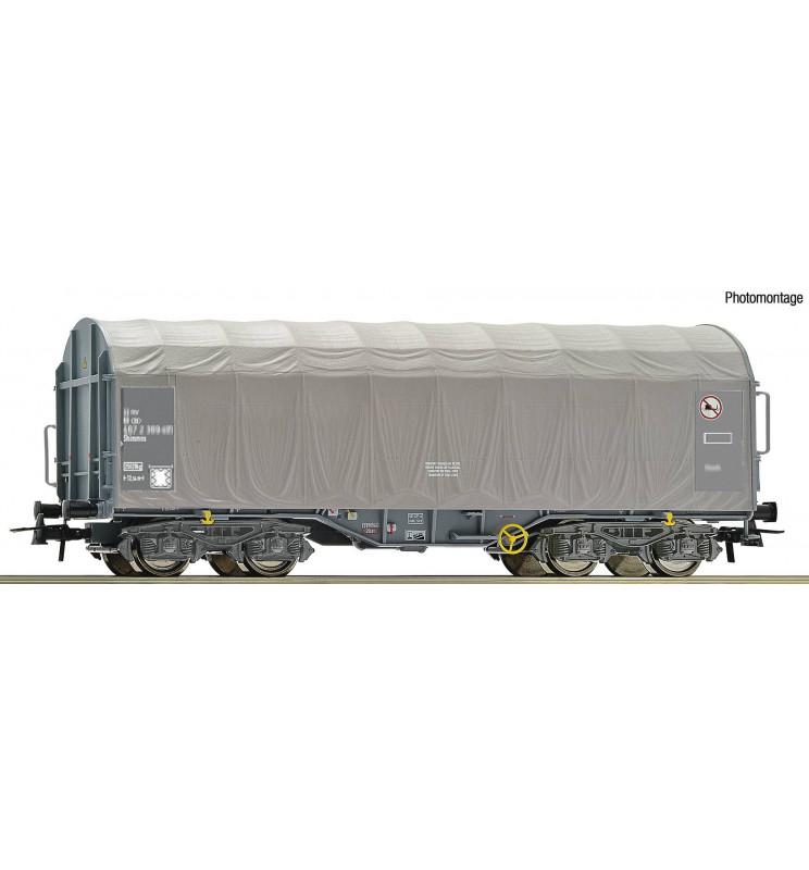 Roco 76452 - Slide tarpaulin wagon SNCB