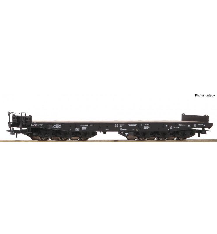 Roco 76758 - Heavy duty flat wagon DB