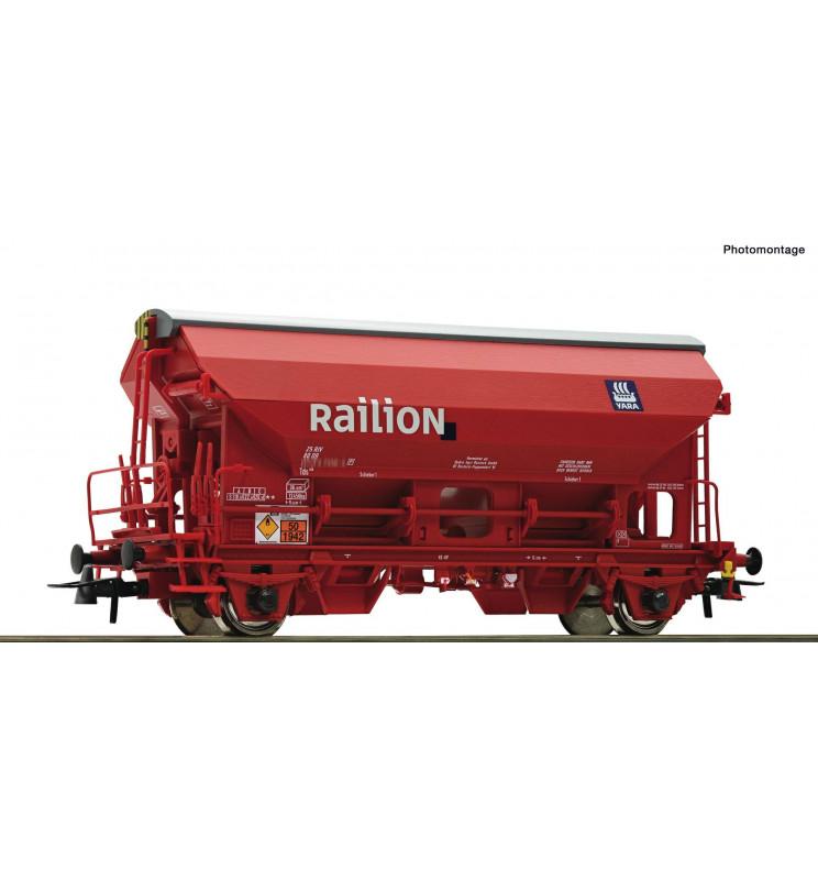 Roco 76579 - Swing roof wagon DB-AG