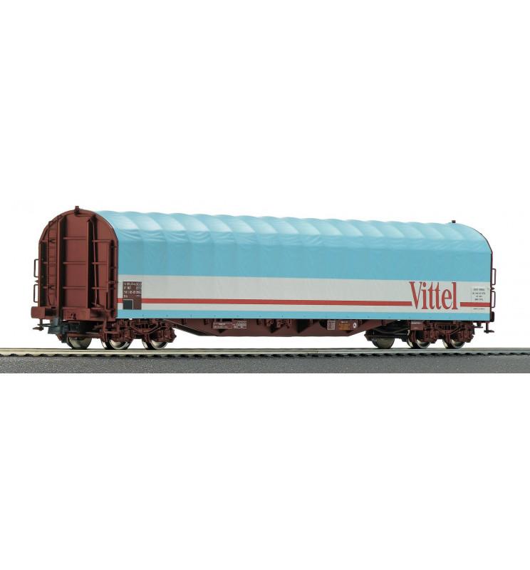 Roco 76453 - Slide tarpaulin wagon SNCF