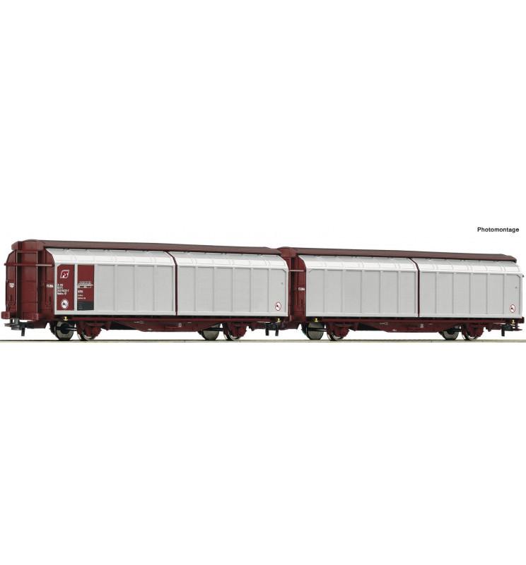 Roco 76734 - Sliding wall wagon unit FS