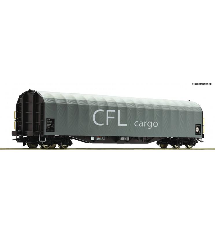 Roco 76477 - Slide tarpaulin wagon FS