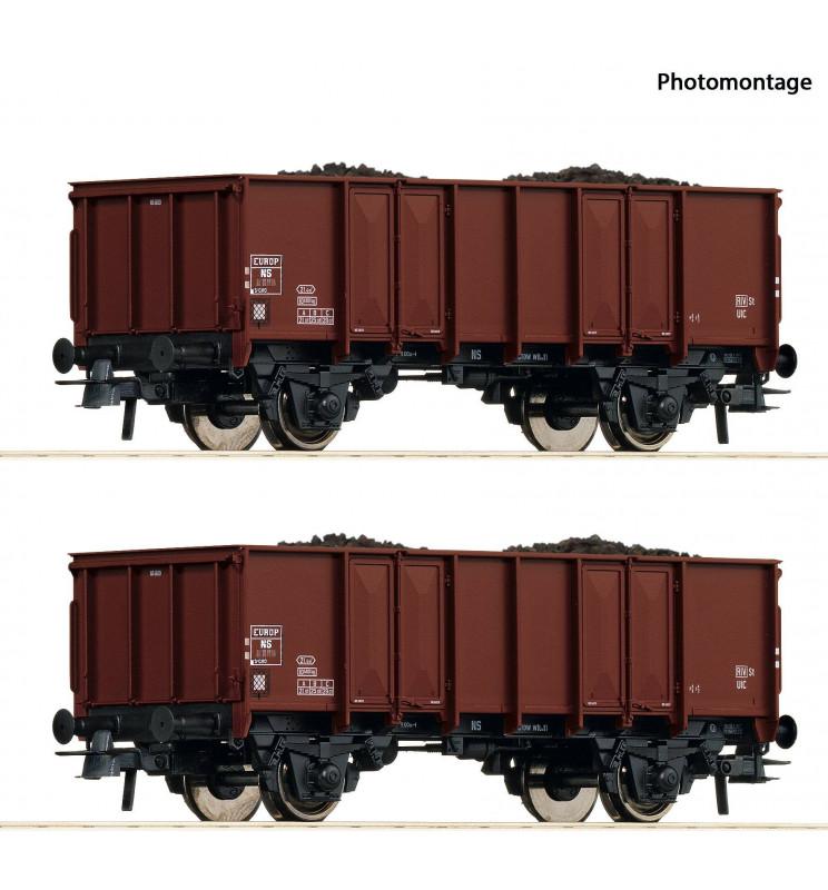 Roco 76136 - 2 piece set: Gondolas NS