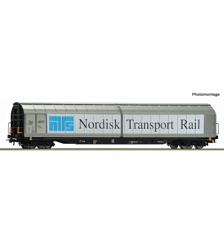Roco 76486 - Sliding wall wagon NTR