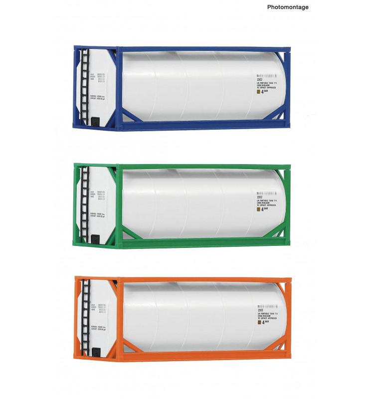 Roco 05216 - Zestaw 3 kontenerów zbiornikowych