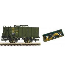 """Fleischmann 826003 - Open livestock wagon """"VO"""" Kbaystsb"""
