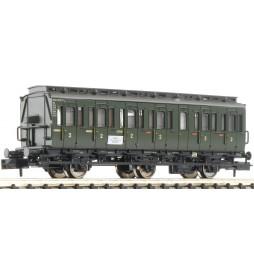Fleischmann 807002 - 3 osiowy wagon 2 klasy z przedziałami, typ C3 pr11 DB