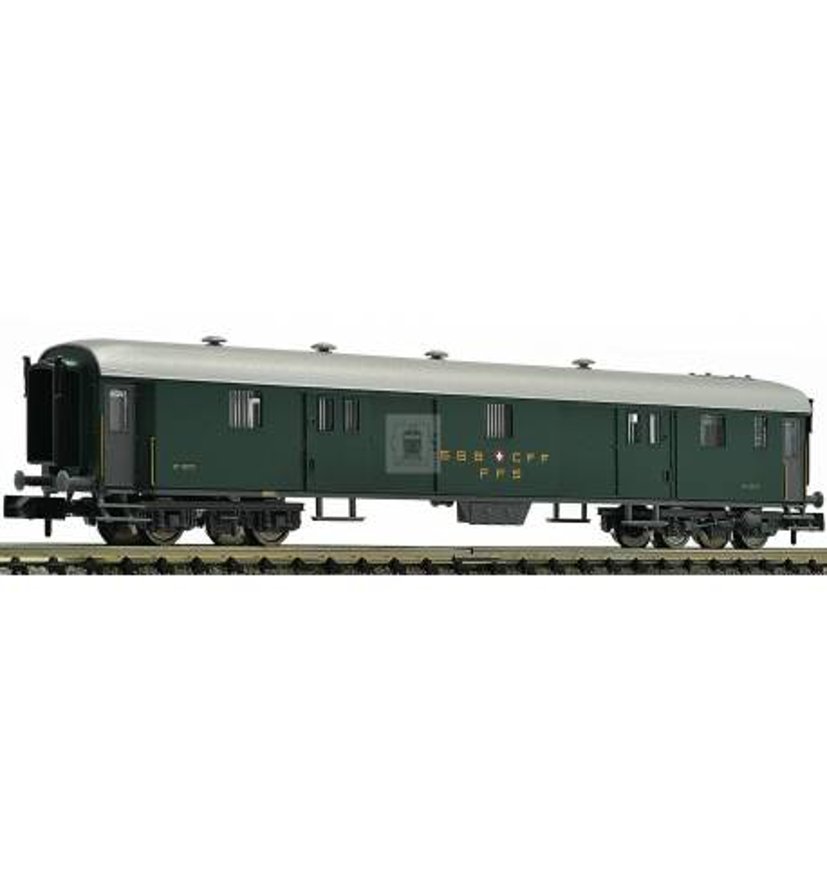 Fleischmann 813005 - Express train luggage coach type D (conversion car) SBB