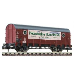 "Fleischmann 831406 - Boxcar type Gl 11 ""Holzindustrie Hunsrück K.G."" DB"
