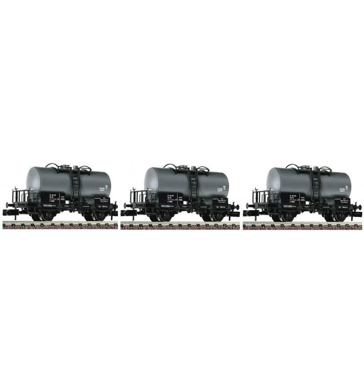 Fleischmann 841601 - 3 piece set tank wagons type Z DR