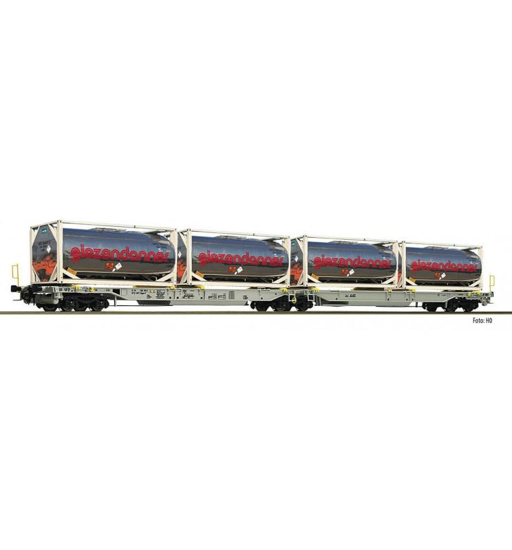 Fleischmann 825009 - Articulated double pocket wagon T2000 AAE