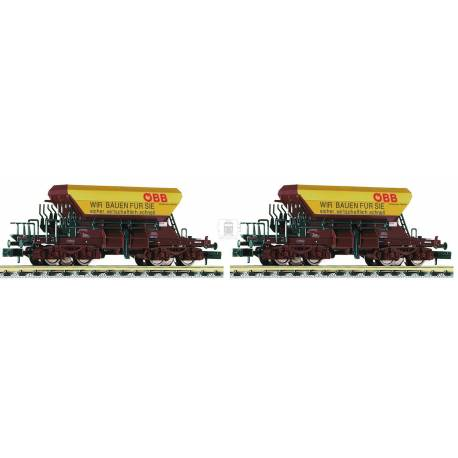 Fleischmann 852502 - 2piece set Talbot gravel wagons type 267 ÖBB